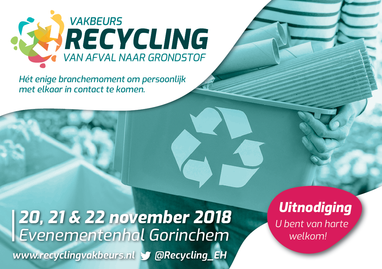 Vakbeurs & symposium Recycling 2018