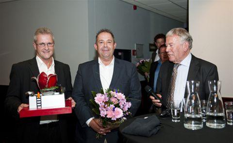 uitreiking Award aan Vink 19-09-2012